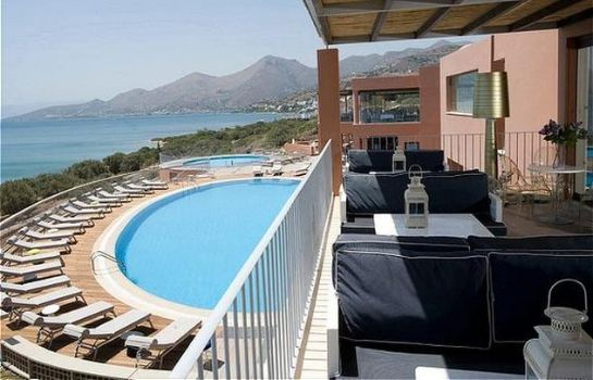 Hotel bar Domes of Elounda Autograph Collection