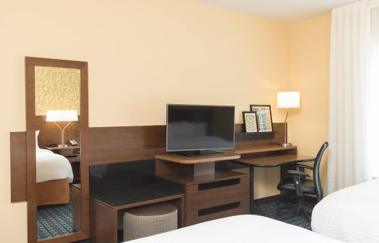 Zimmer Fairfield Inn & Suites Jackson Clinton