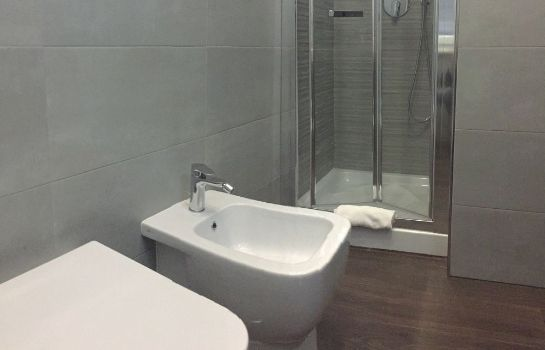 Badezimmer Four Rivers Suites in Rome