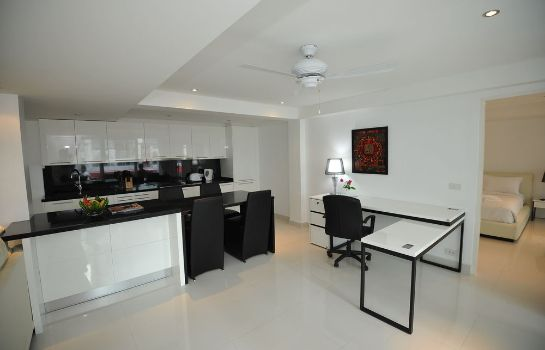Cucina in camera Siam Palm Residence