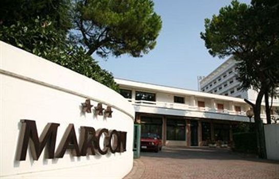 Exterior view Hotel Terme Marconi