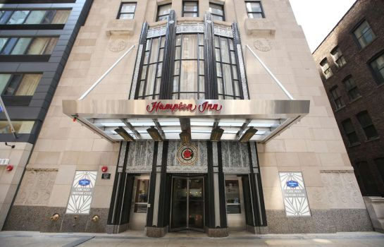 Buitenaanzicht Hampton Inn Chicago Downtown-N Loop-Michigan Ave IL