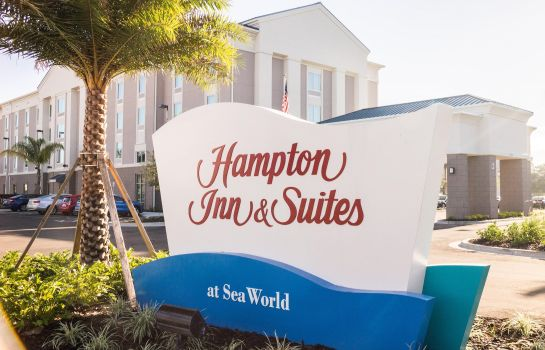 Vista exterior Hampton Inn - Suites Orlando at SeaWorld FL