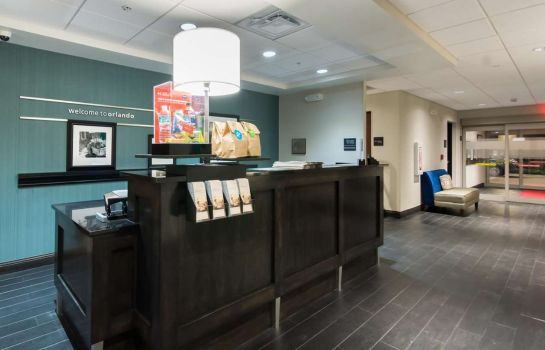 Vestíbulo del hotel Hampton Inn - Suites Orlando at SeaWorld FL