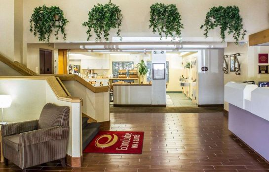 Lobby Econo Lodge Inn & Suites Raleigh North