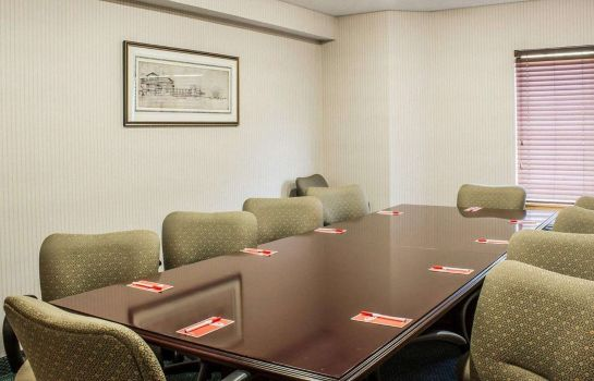 Conference room Econo Lodge Inn & Suites Raleigh North