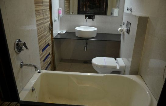 Bagno in camera Hotel Citi Heights