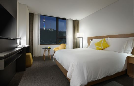 Chambre double (standard) Lotte Hotel L7 Myeongdong