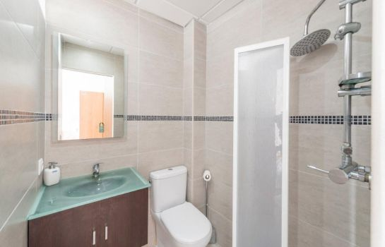 Bagno in camera Vista Alegre by Eurotels Hostal