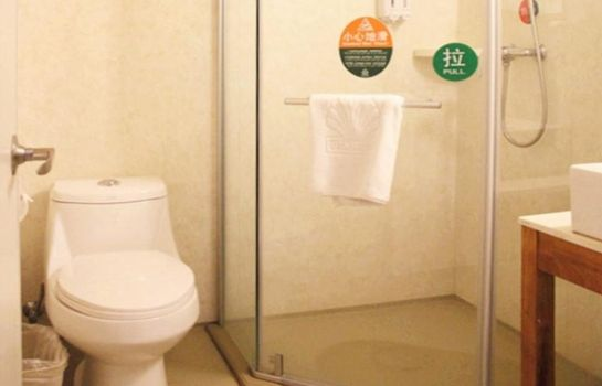 Bagno in camera GreenTree Alliance West Renmin Road (Domestic only)