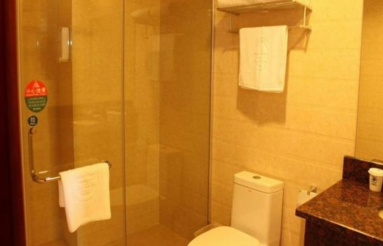 Bagno in camera GreenTree Inn Shou West Lake Business Hotel (Domestic only)