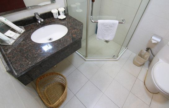 Bagno in camera Greentree Inn Shimao Canal Hotel (Domestic only)