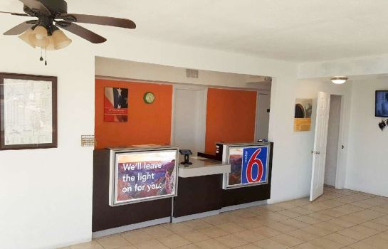 Hall de l'hôtel MOTEL 6 HOBBS NM