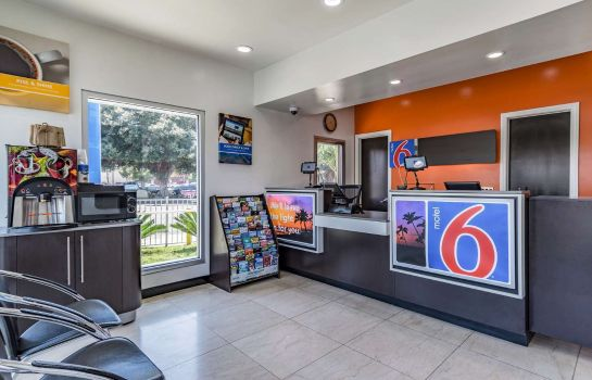 Hotelhalle MOTEL 6 NATIONAL CITY CA