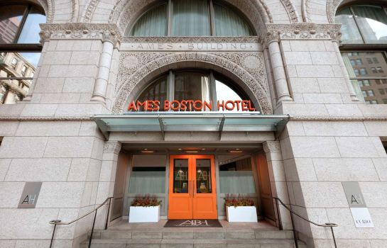 Buitenaanzicht Ames Boston Hotel Curio Collection by Hilton
