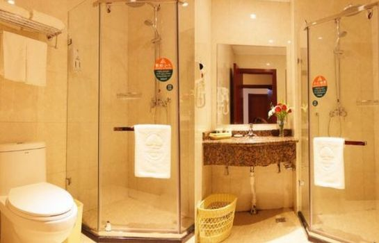 Bagno in camera GreenTree Inn Linxi Ronglin Homeland Express Hotel (Domestic only)