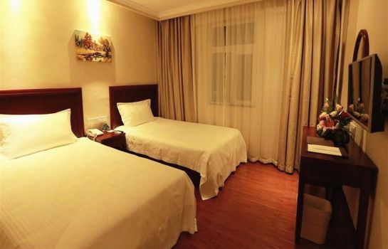 Chambre double (standard) GreenTree Inn Chunyuan Seafood Square (Domestic only)