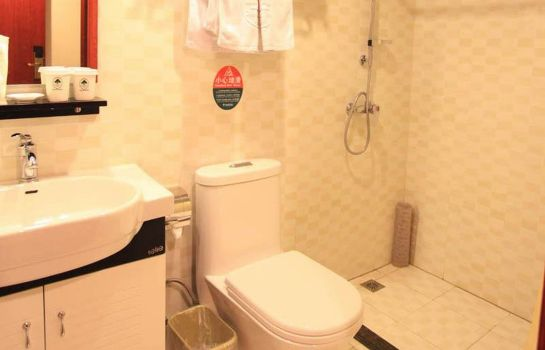 Bathroom GreenTree Inn Lantian City Plaza (Domestic only)