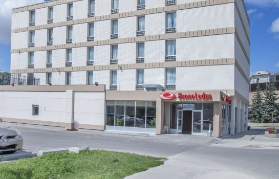Vista exterior Econo Lodge Winnipeg