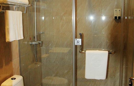 Bagno in camera GreenTree Inn Xiyang Lake Beiping Street Express Hotel (Domestic only)
