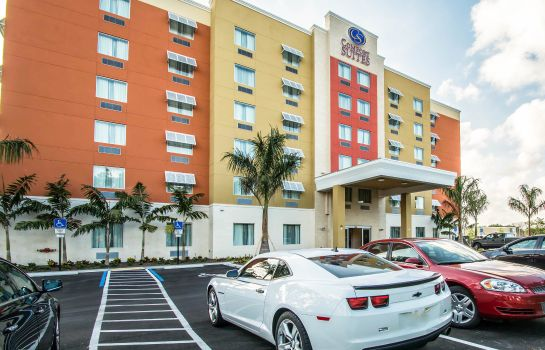 Vista exterior Comfort Suites Fort Lauderdale Airport South & Cruise Port