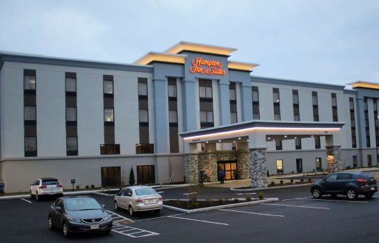 Buitenaanzicht Hampton Inn - Suites-Alliance OH
