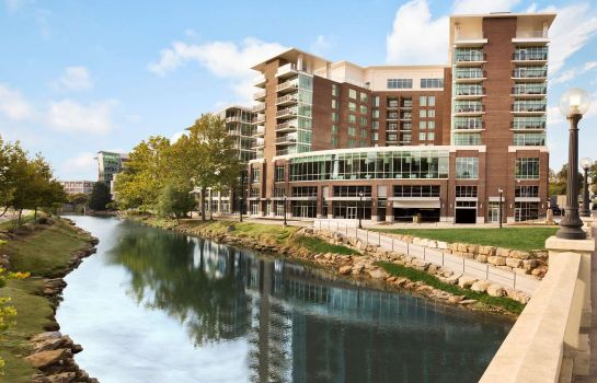 Vue extérieure Embassy Suites by Hilton Greenville Downtown Riverplace
