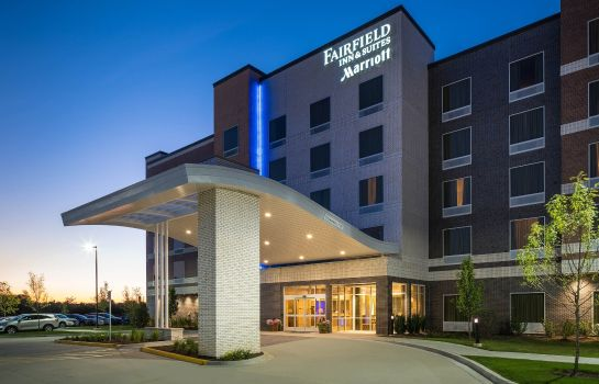 Außenansicht Fairfield Inn & Suites Chicago Schaumburg