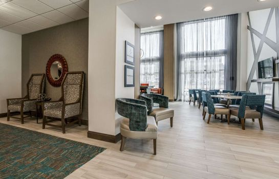 Hotelhalle Hampton Inn - Suites Dallas-Central Expy-North Park Area TX