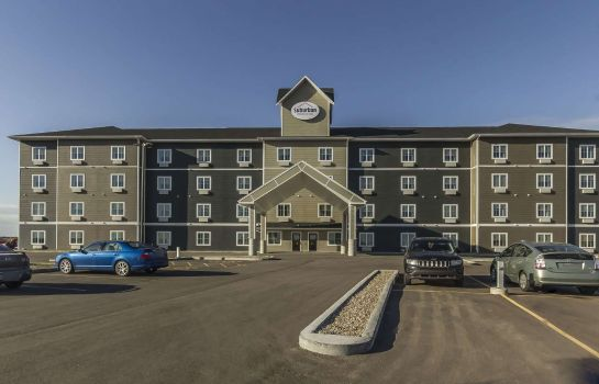 Exterior view Suburban Extended Stay Hotel Moose Jaw