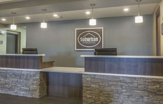 Lobby Suburban Extended Stay Hotel Moose Jaw
