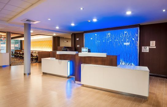 Vestíbulo del hotel Fairfield Inn & Suites Houston Northwest/Willowbrook