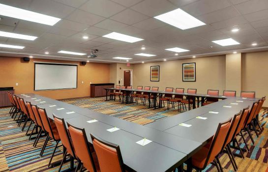 Sala de reuniones Fairfield Inn & Suites Houston Northwest/Willowbrook