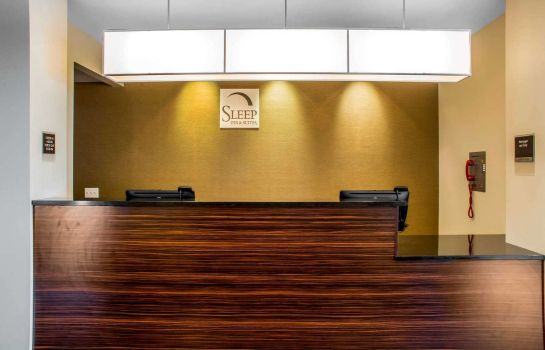 Vestíbulo del hotel Sleep Inn & Suites Airport