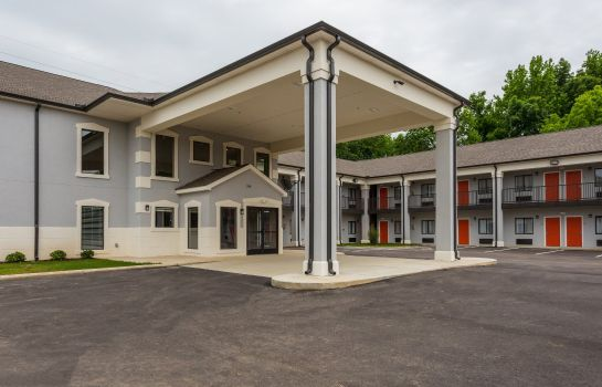 Buitenaanzicht Econo Lodge Forrest City