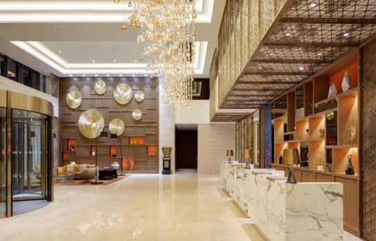 Vestíbulo del hotel Four Points by Sheraton Changchun Hi-Tech Zone
