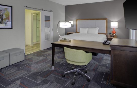 Suite Hampton Inn and Suites by Hilton Columbus Scioto Downs OH