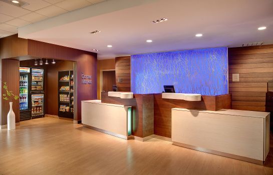 Hol hotelowy Fairfield Inn & Suites Lincoln Airport