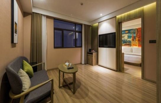 Suite Atour Hotel Shanghai International Tour Holiday Disctrict