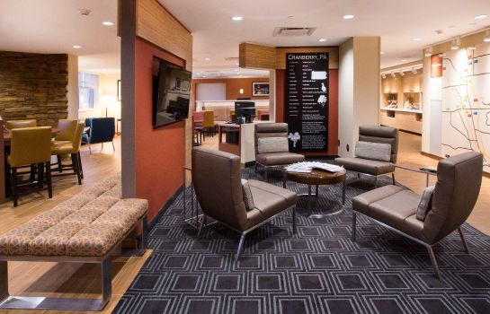 Hol hotelowy TownePlace Suites Pittsburgh Cranberry Township