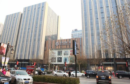 Entorno Jinan Bedom Service Apartments Quancheng Square