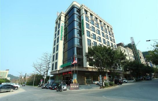 Vista all'interno GreenTree Inn DanShui RenMin Road