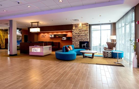 Hall de l'hôtel Fairfield Inn & Suites Atlanta Acworth