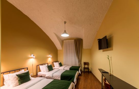 Chambre triple Troyka Hotel Moscow