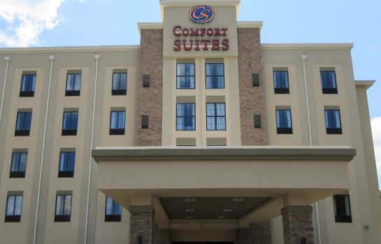 Buitenaanzicht Comfort Suites Greenville South