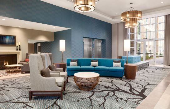 Hol hotelowy Homewood Suites by Hilton Charlotte SouthPark
