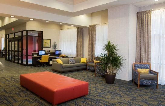 Hotelhalle Hampton Inn - Suites Tulsa Downtown OK
