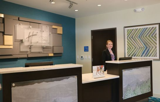 Hol hotelowy Holiday Inn Express & Suites HENDERSONVILLE SE - FLAT ROCK