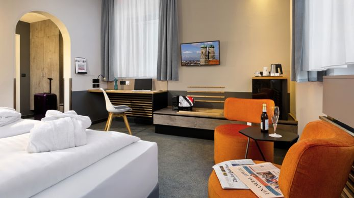 Business-Zimmer Flemings Express Hotel Wuppertal