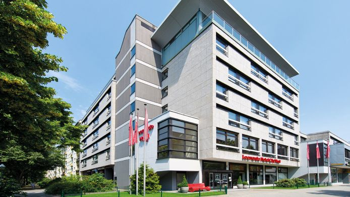 Buitenaanzicht Leonardo Hotel Berlin City West